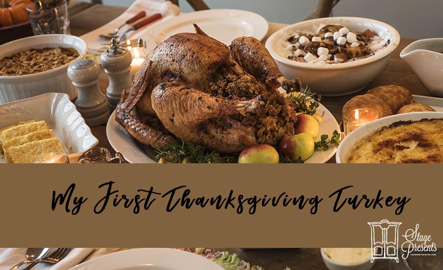 My First Thanksgiving Turkey