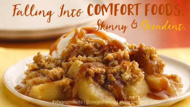 Falling Into Comfort Foods - Skinny & Decadent Recipes for Apple Crisps - A Fall Favorite