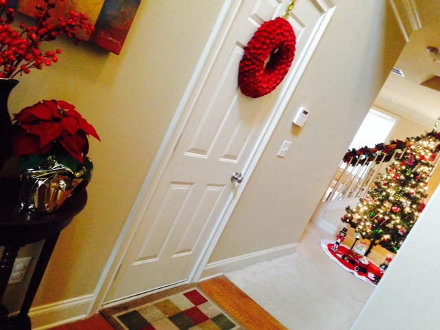 Our 2013 Christmas Home Tour - The Front Foyer and Hallway