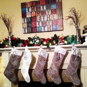 Our 2013 Christmas Home Tour - The Mantel