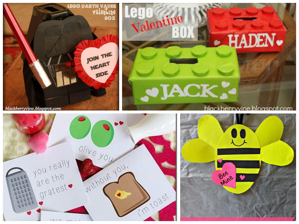 Valentine's Day Craft Ideas from around the Web (Links Below)