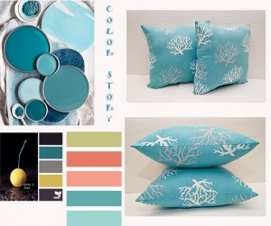 TEAL COLOR STORY