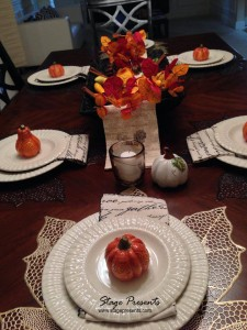 2013 Fall Tablescape