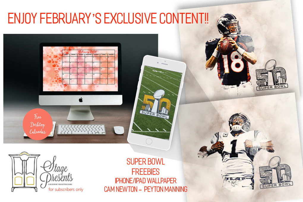 February's Exclusive Content