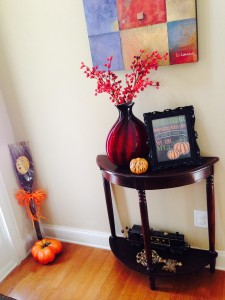 Fall 2014 - Foyer Decor