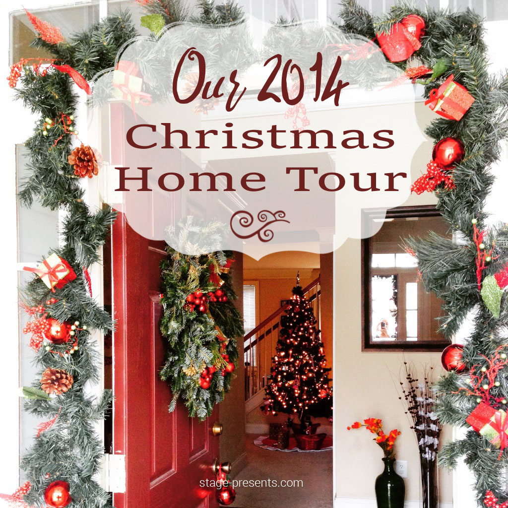 Our Diy House 2014 Home Tour: Our Delayed 2014 Christmas Home Tour