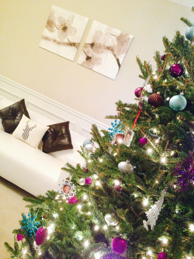 2014 Christmas Home Tour - Decorator Tree + Stage Presents Exclusive Holiday Deer Pillow