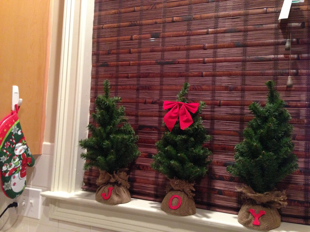 2014 Christmas Home Tour - Joy In The Kitchen Window