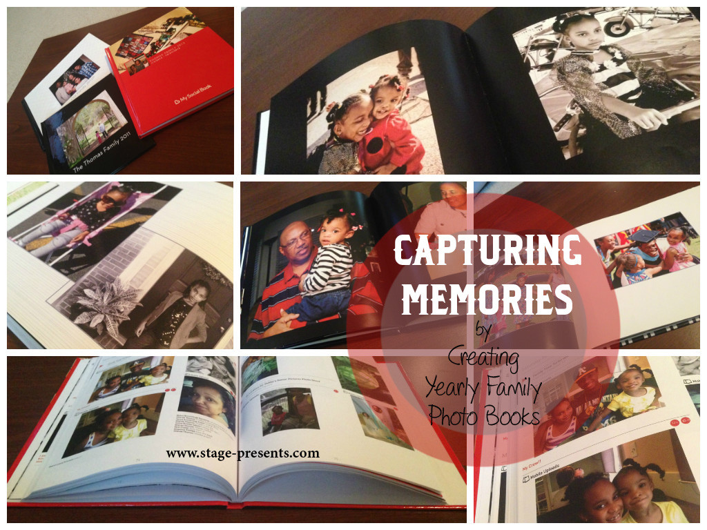 Capturing Memories with Yearly Photo Books