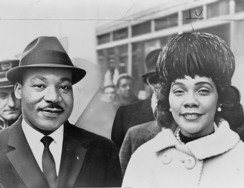 Dr. Martin Luther King Jr and his lovely wife, Coretta Scott-King