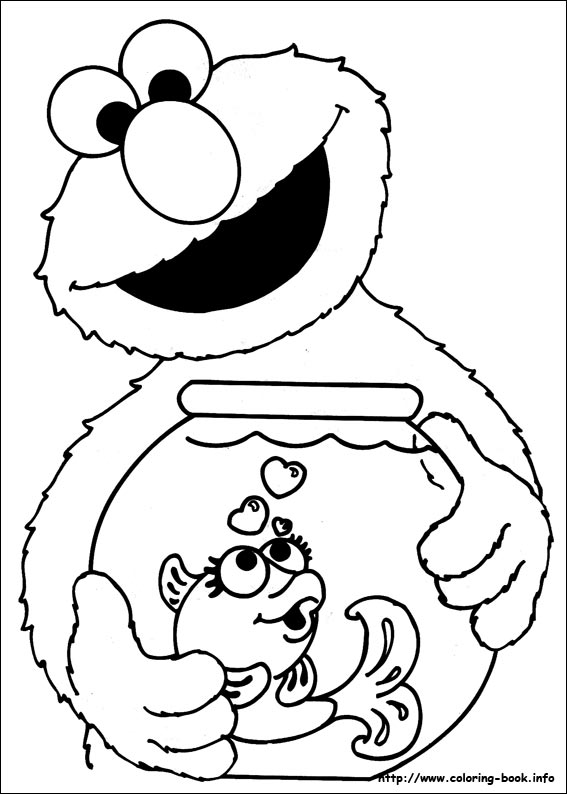 sesame coloring pages | Coloring Pages Archives - Stage Presents
