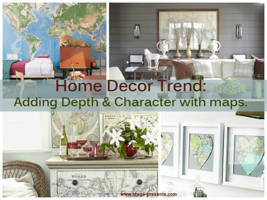 Home Decor Trend: Adding Depth & Character With Maps