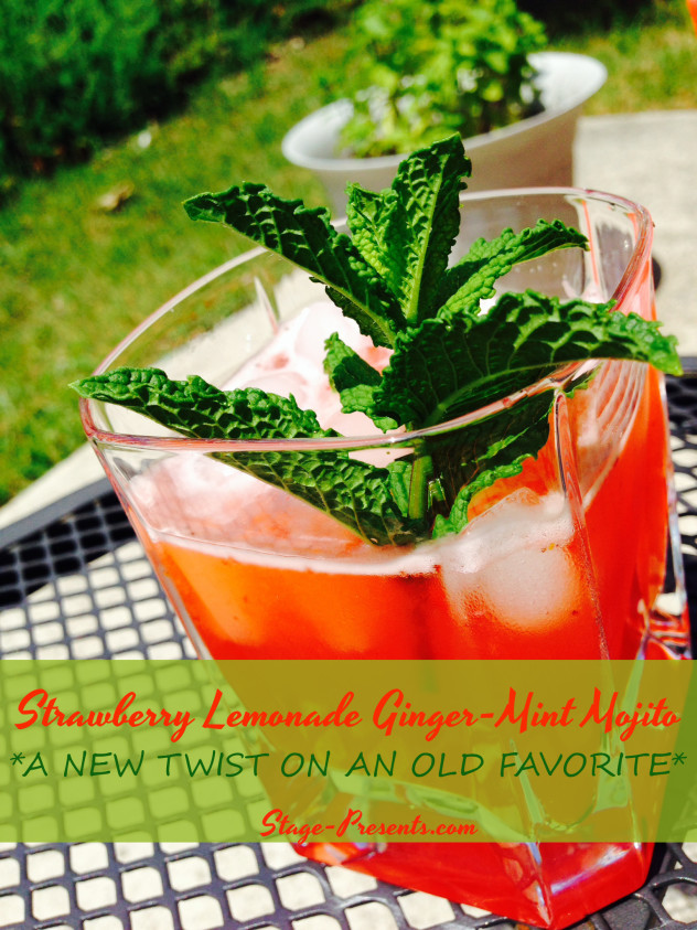 Strawberry Lemonade Mojitos