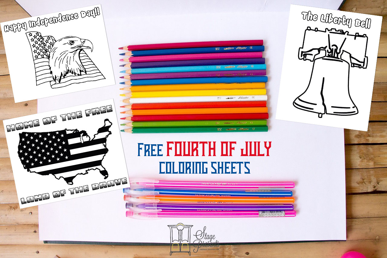 Free Fourth of July Coloring Sheets