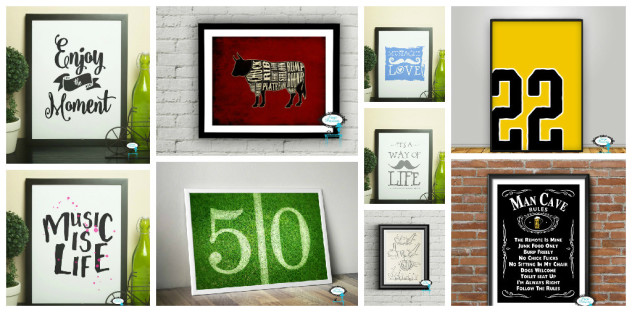 Decorate for Dad with Printables