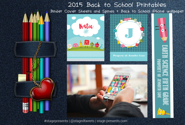 2015- 2016  Back to School Printables