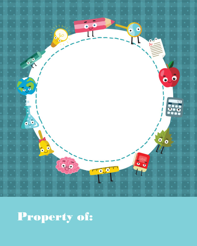 Free Back to School  Property Of Binder Cover #freebiefriday