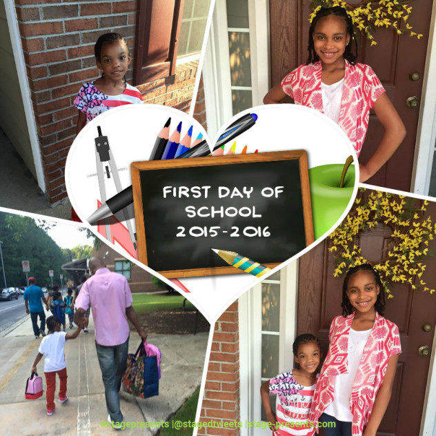 Conquering Day One - First Day of School - How to Talk to Your Kids About School - stage-presents.com