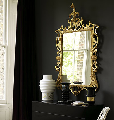 Decorating with Gold On Black