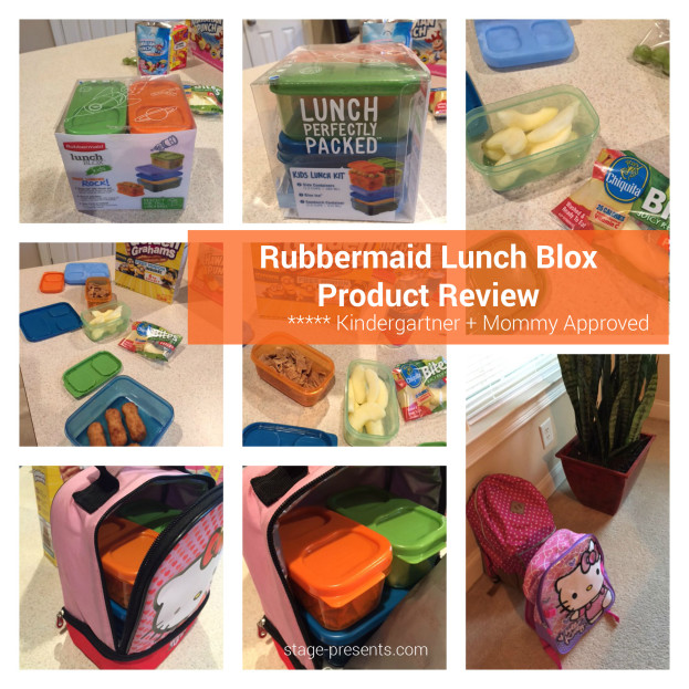My Rubbermaid Lunch Blox Product Review - Mom and Kindergarten Approved