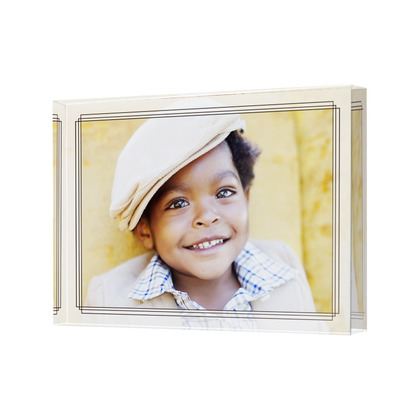 Decorating with Pictures - Acrylic Photo Blocks- stage-presents.com