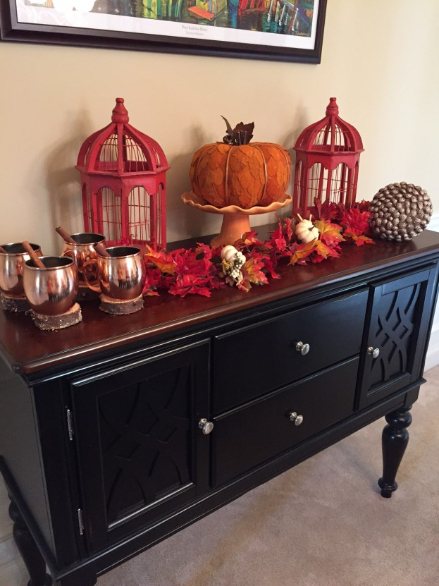 2015 Fall Home Tour - Fall Side Buffet - stage-presents.com