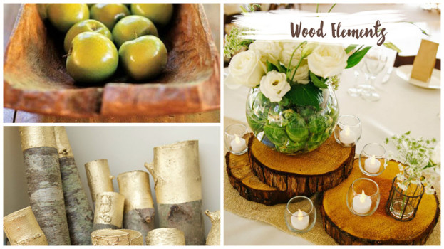 Decorating with Natural Elements Wood