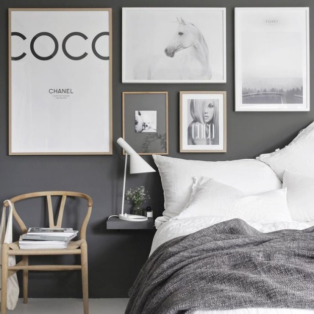 Decorating with Posters - Using Fashion Brands and Other Artwork to Define Your Space