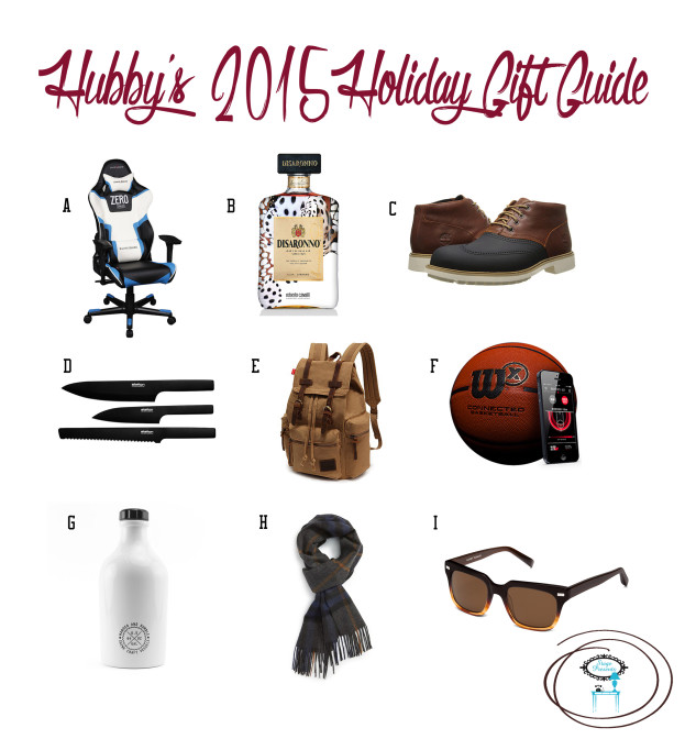 Hubby's Holiday Gift Guide