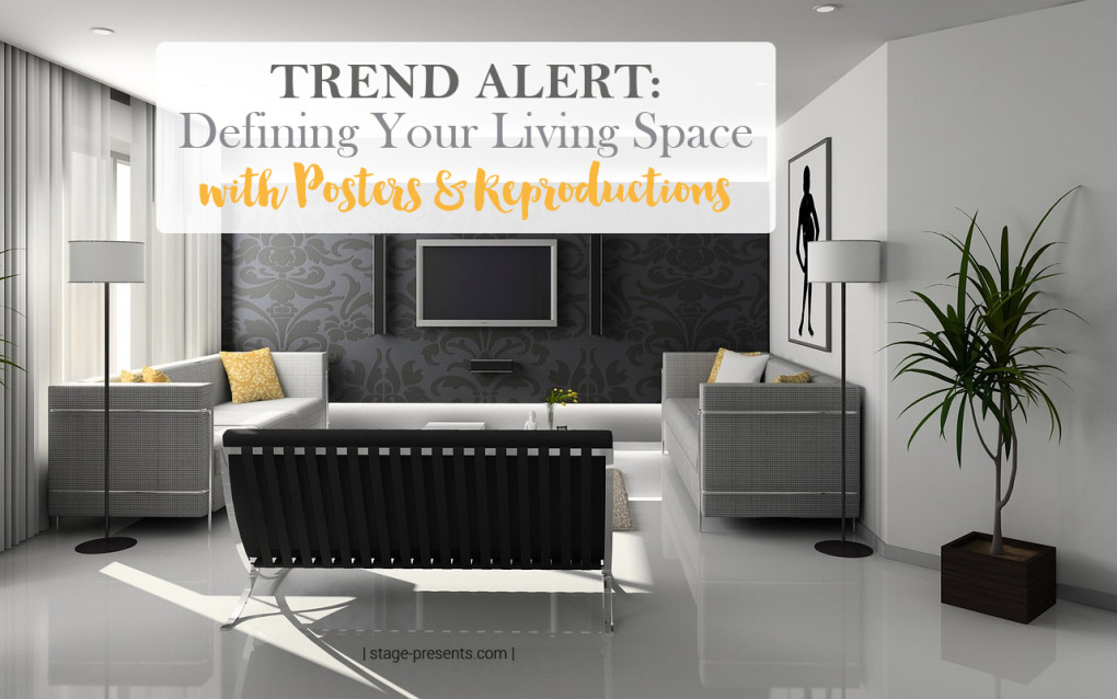 Trending Alert Decorating with Posters