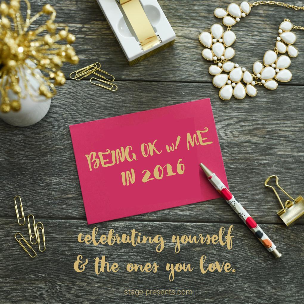 Celebrating Yourself