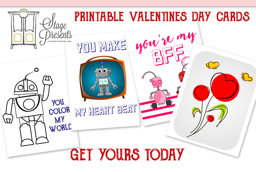 picture about You Color My World Printable named Printable Valentines Working day Playing cards #freebiefriday - Issue Gives