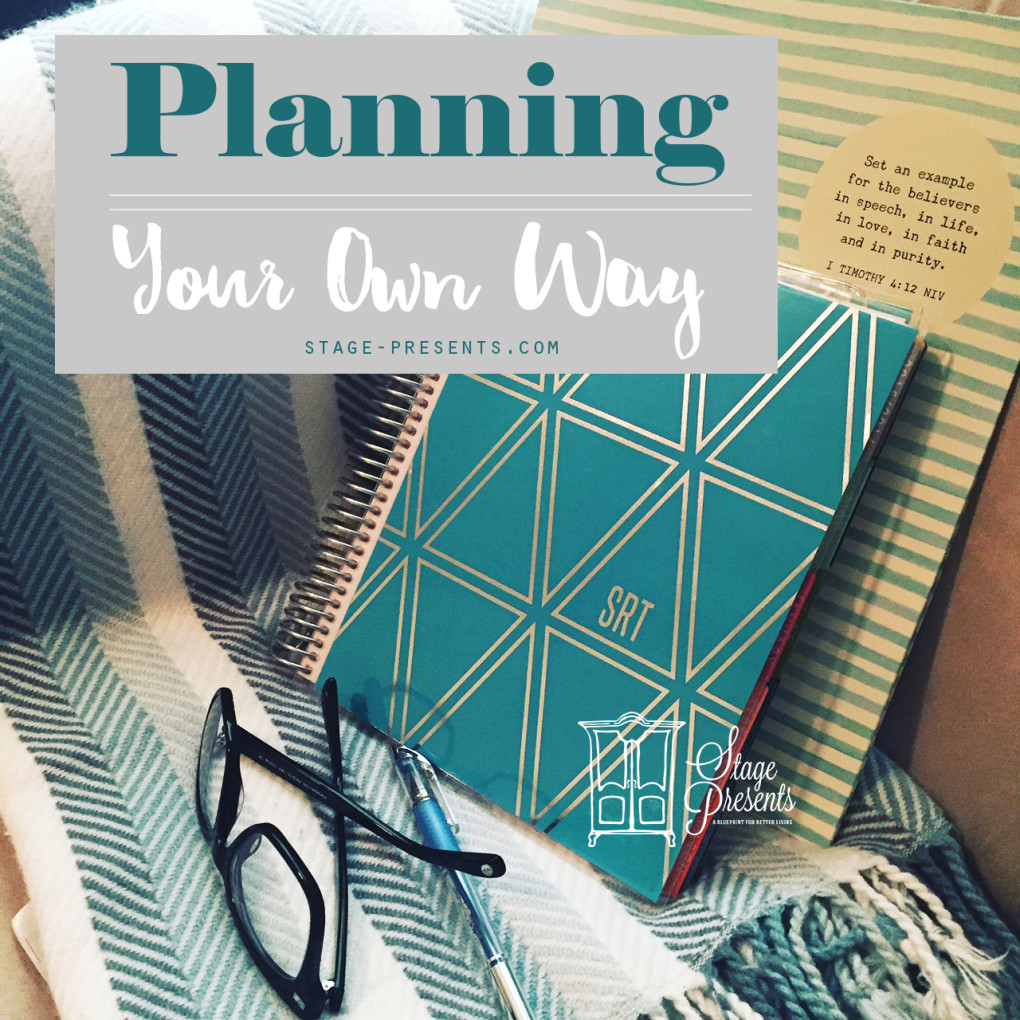 Planning Your Own Way