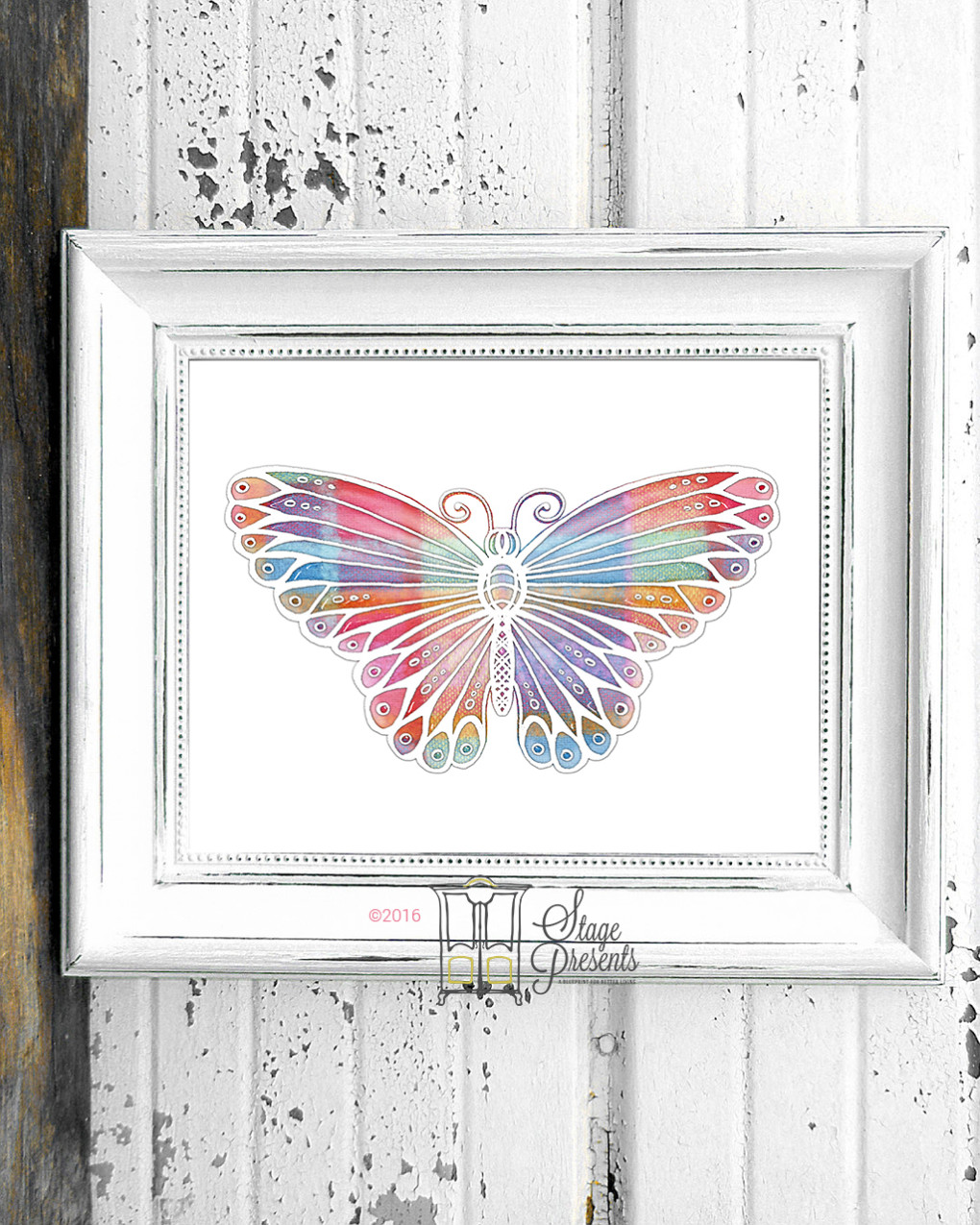 Butterfly Spring Print ©2016 Stage Presents
