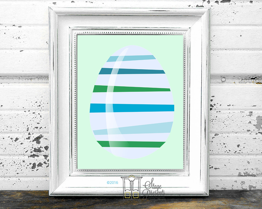 Easter Egg Spring Print ©2016 Stage Presents