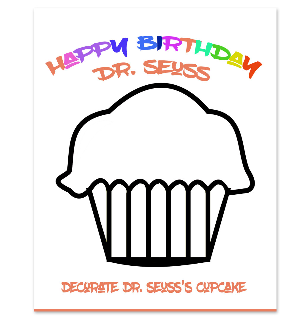 Happy Birthday Dr. Seuss Coloring Sheet - www.stage-presents.com