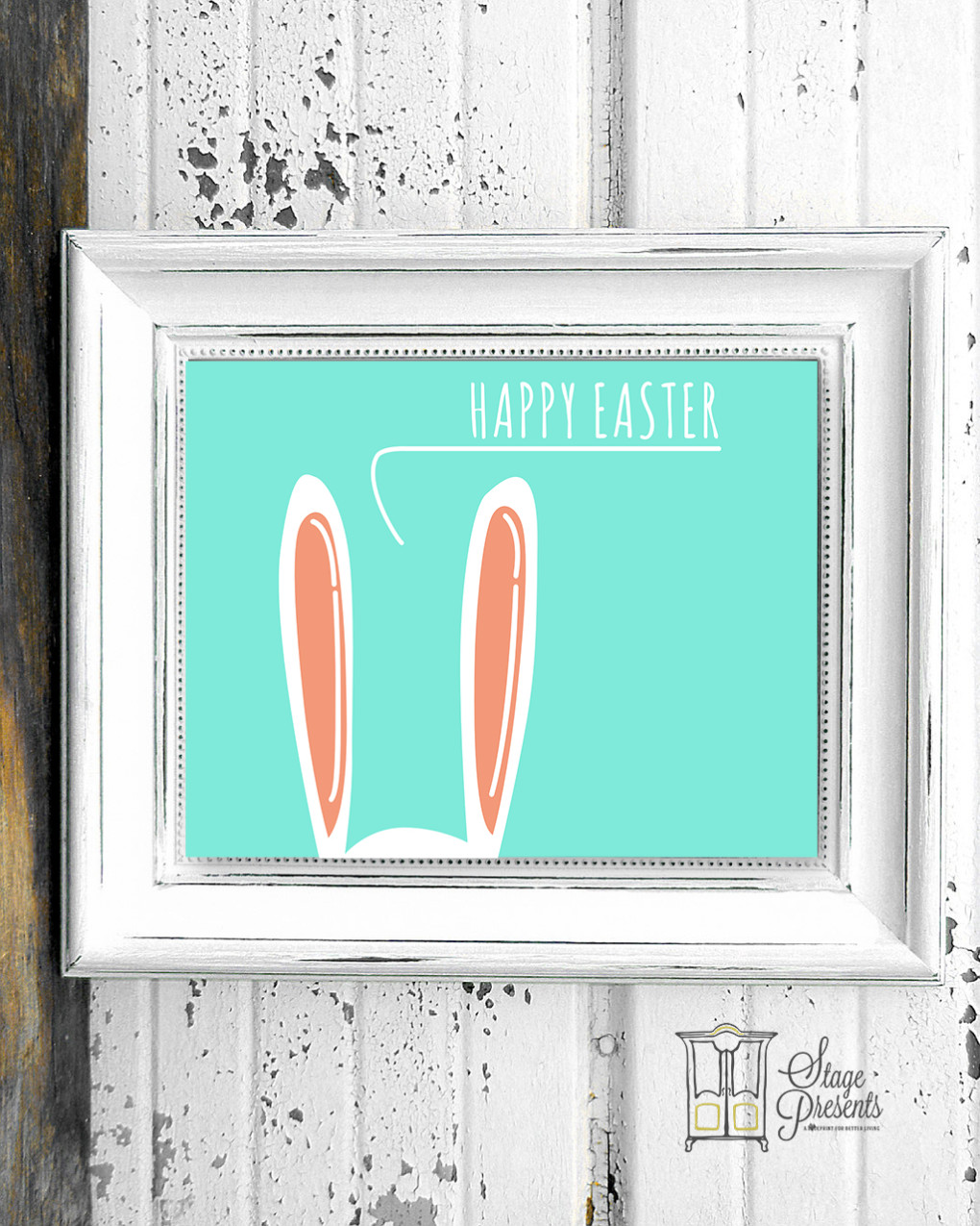 Happy Easter Spring Print ©2016 Stage Presents