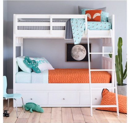 Orange & Teal Room - Target Pillowfort Collection pt.3
