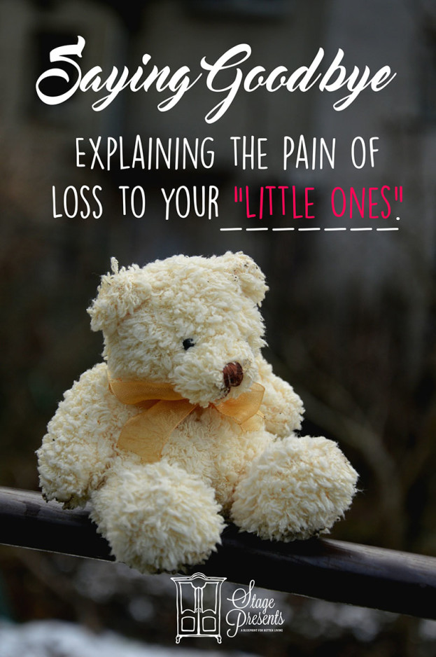 Saying Goodbye: Explaining the Pain of Loss to Your Little Ones