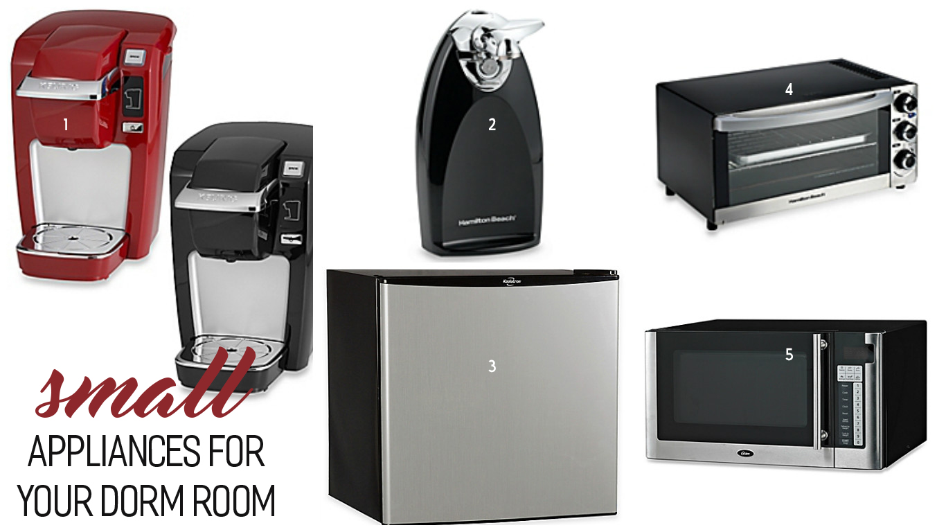 Small Appliances for Your Dorm Room