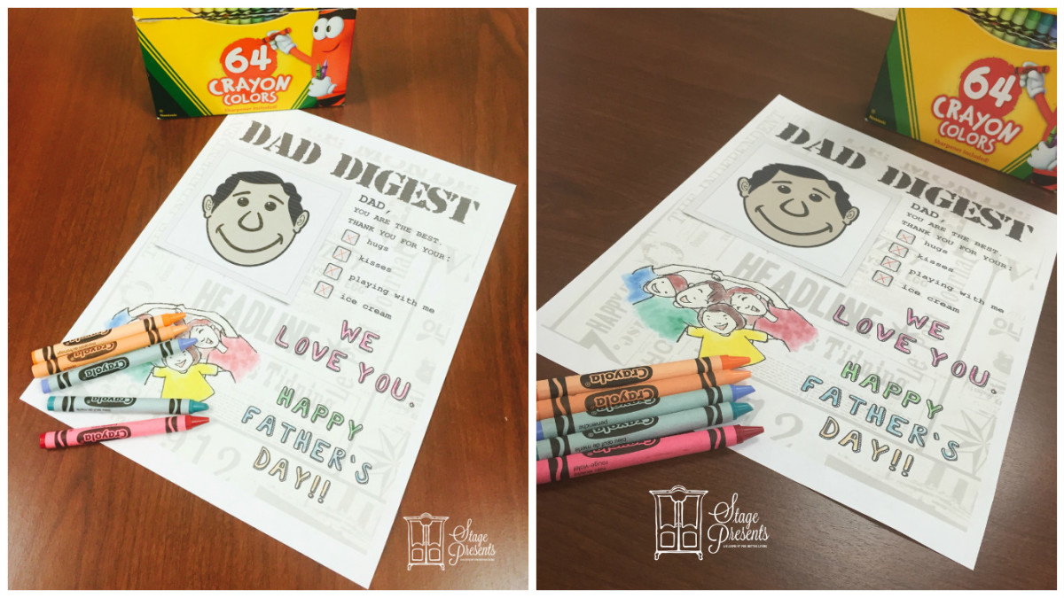 Celebrate Dad with His Own Dad Digest!!