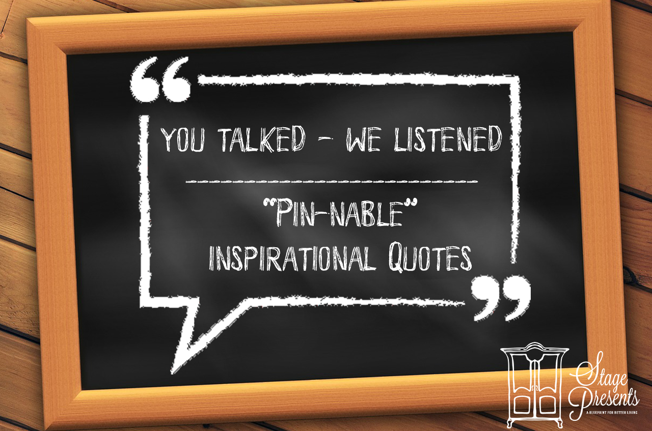 Pinnable Inspirational Quotes