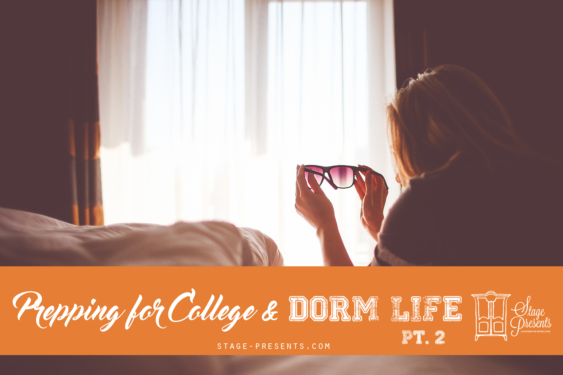 Prepping for College and Dorm Life - Washable Linen Must Haves - stage-presents.com