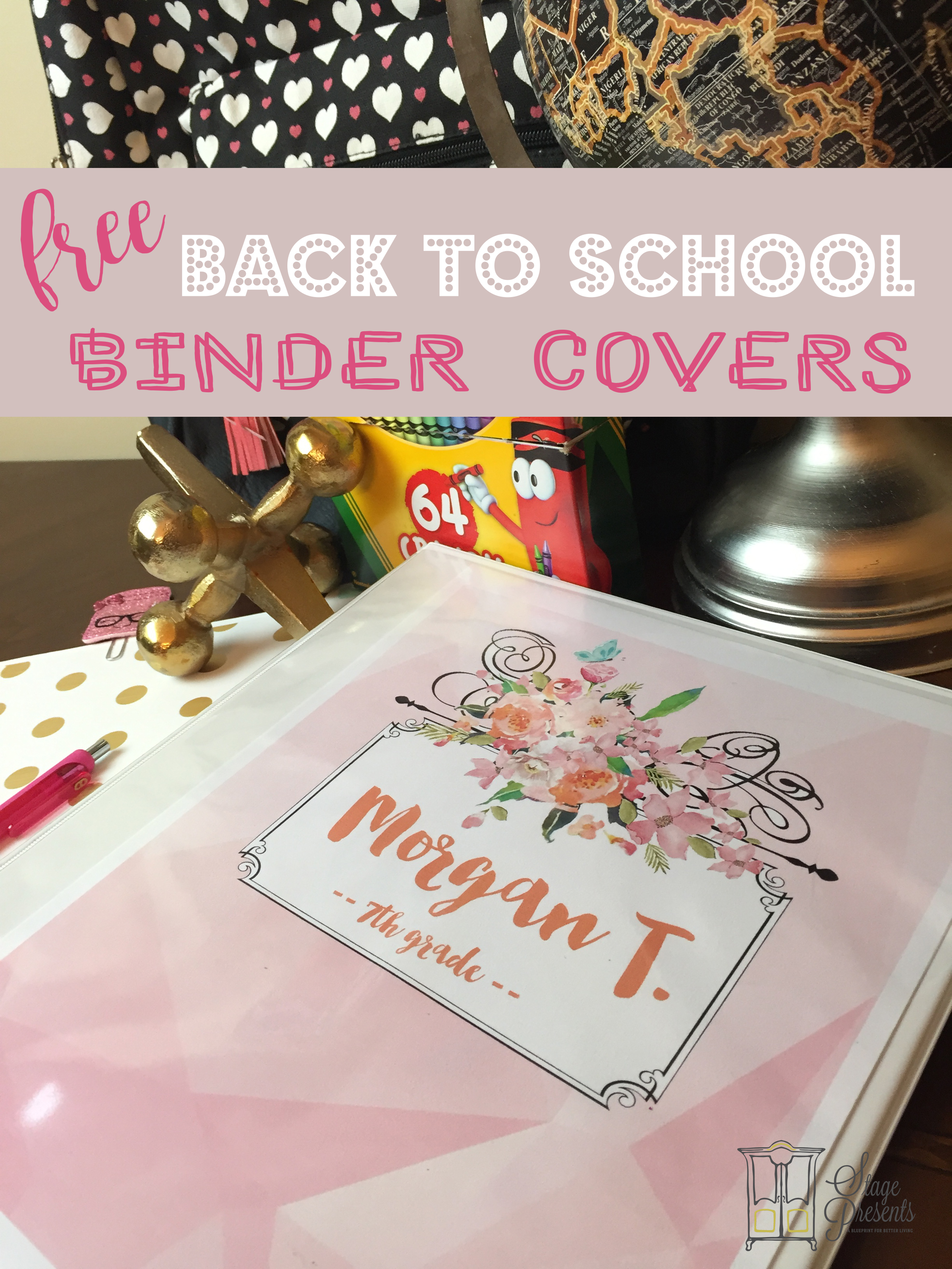 Back to School Binder Cover Blog