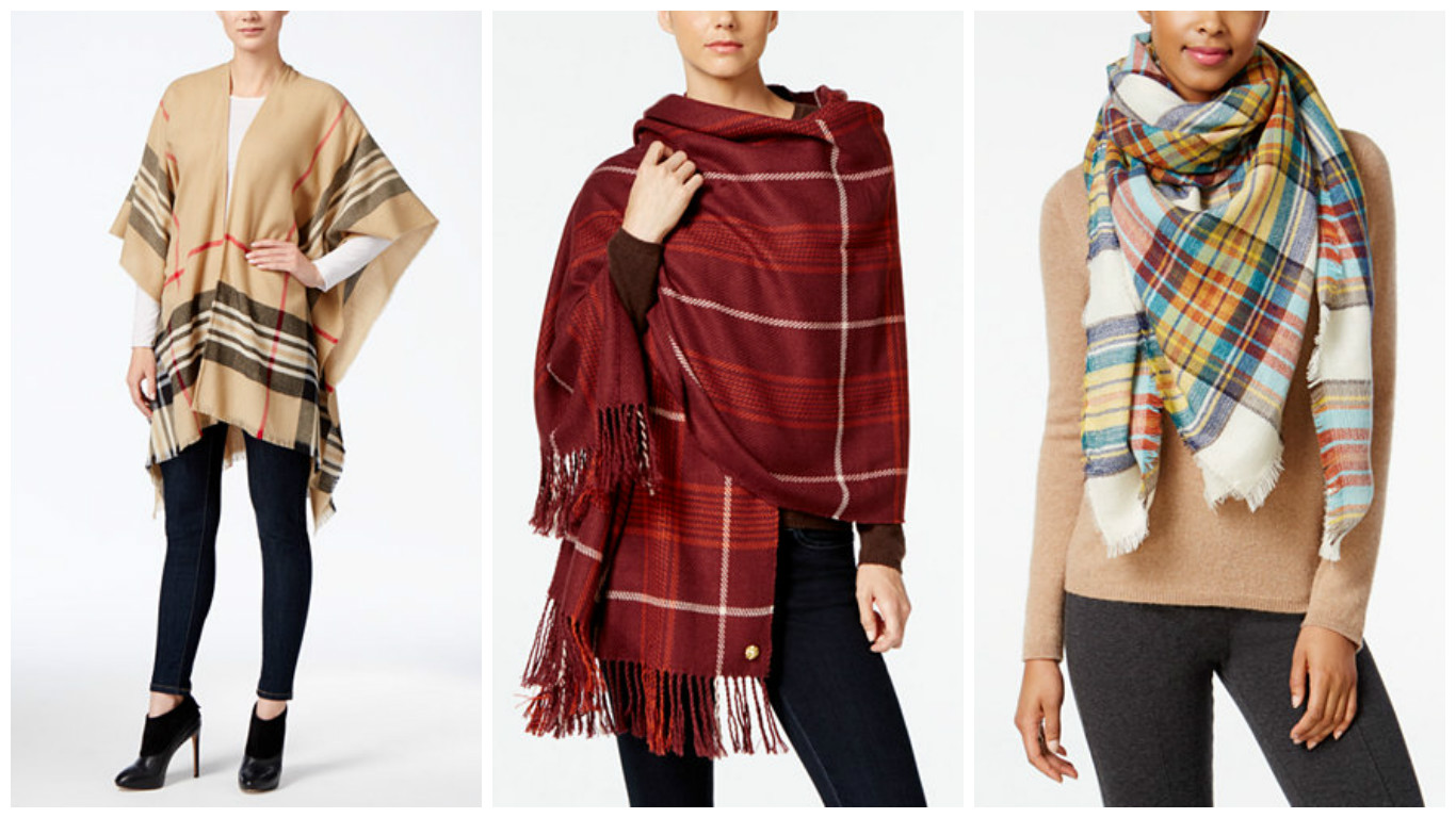 2016 Autumn Fashion Must Haves Scarves Ponchos and Wraps