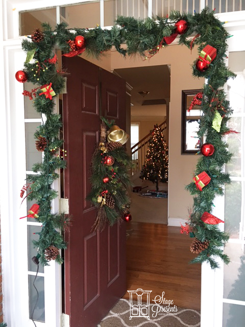 2016 Christmas Home Tour Front Door