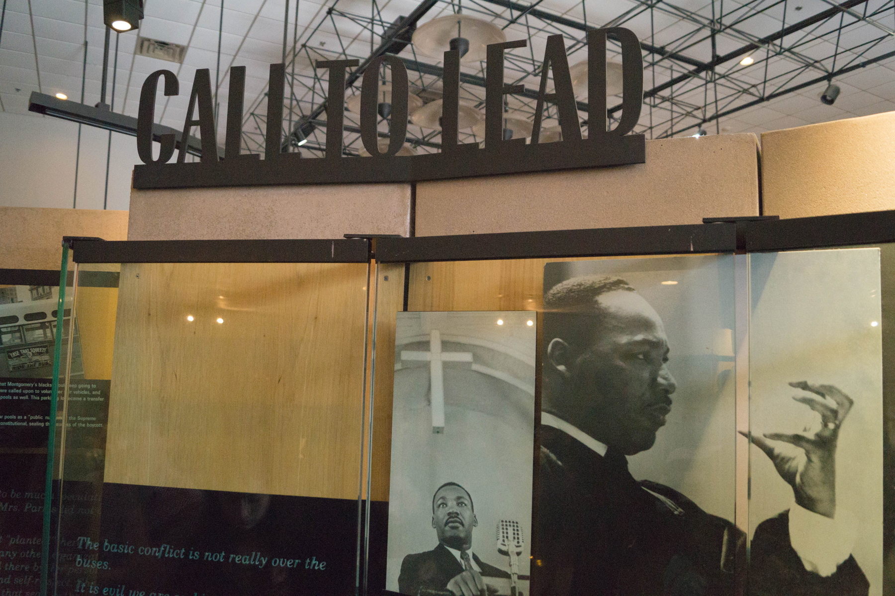 A Visit to the King Center : Call To Lead
