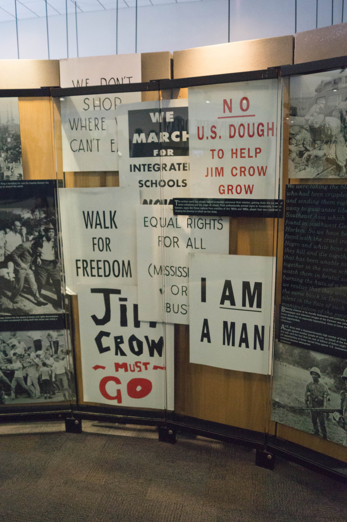 A Visit to the King Center: Signs from Marches