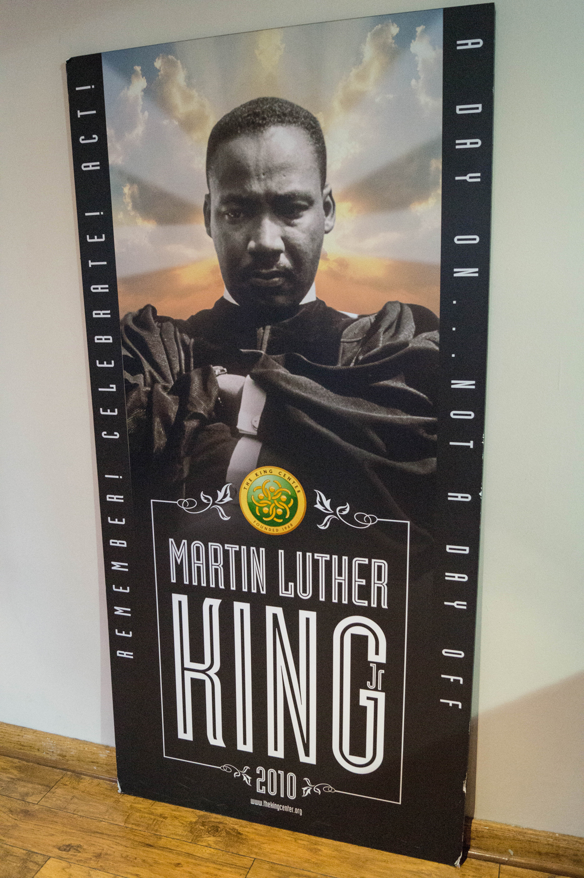 Visit to the King Center - A Day On ... Not A Day Off