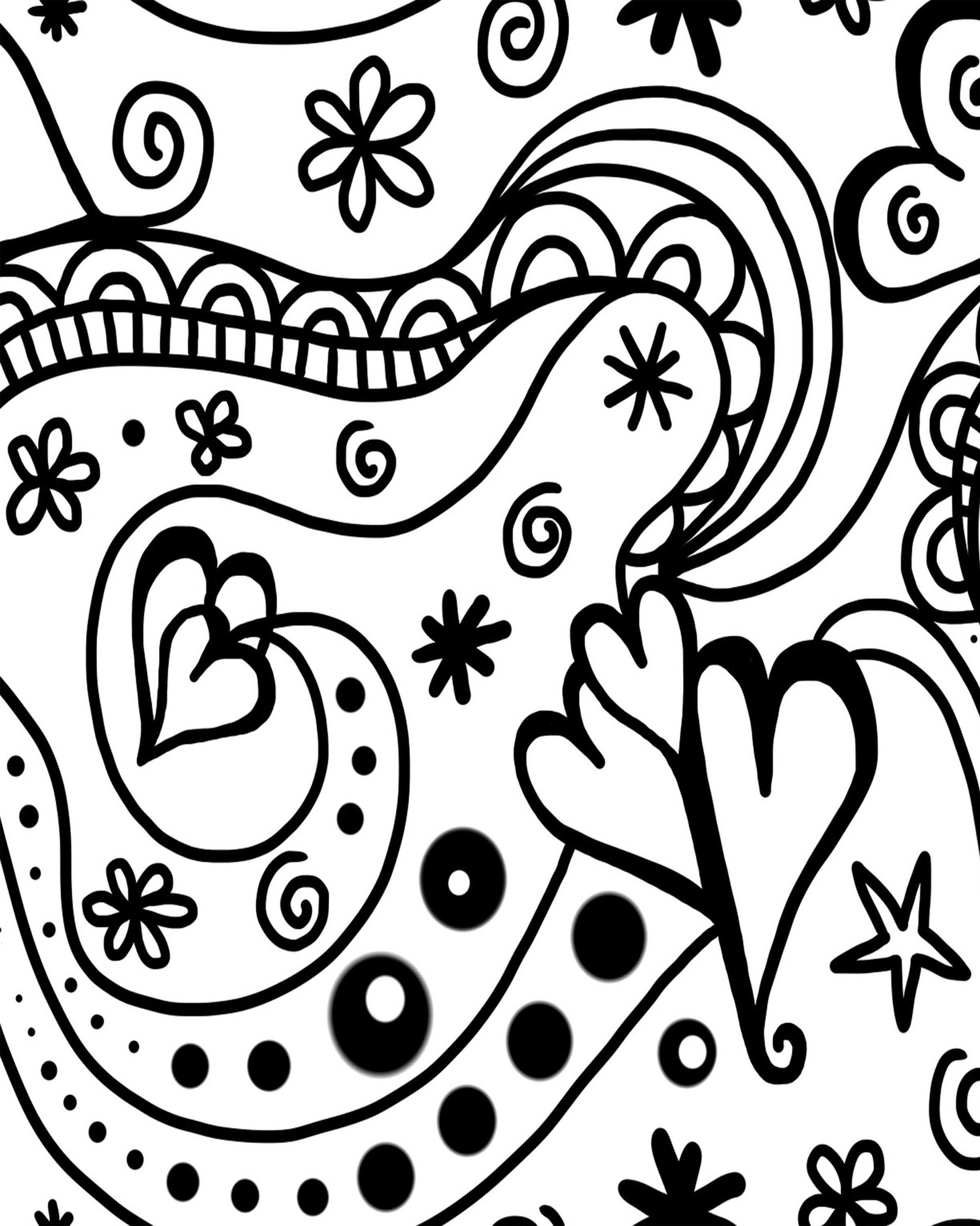 """Adult """"Valentine s Day"""" Coloring Sheets Stage Presents"""